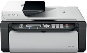 Ricoh Aficio SP100 hataları - printerservis